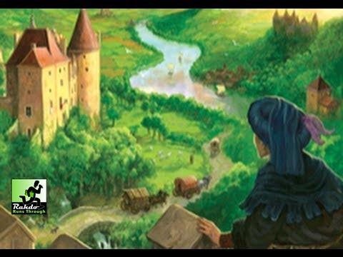 Castles of Burgundy Gameplay Runthrough