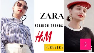 Styling  most wearable Fashion Trends of 2018 | Zara | H & M | Wide leg Jeans