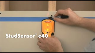 how to use a zircon studsensor e40 stud finder to find wall studs