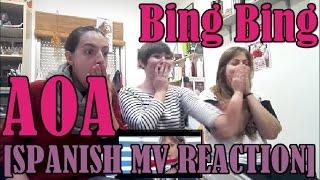 사거리 (SAGORI) | [SPANISH MV REACTION] AOA Bing Bing (빙빙)