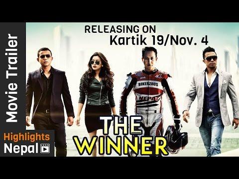 THE WINNER Nepali Movie Official Trailer 2016 Ft. Malina Joshi, Mahesh Shrestha, Manchin Shakya 4K