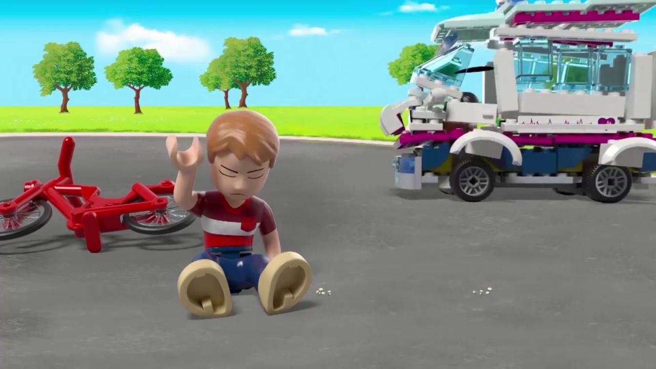 Lego Friends Heartlake Hospital 41318 Youtube