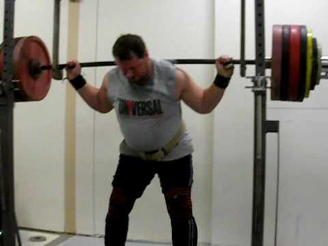 Magnus Ver Magnusson Squats 280kg