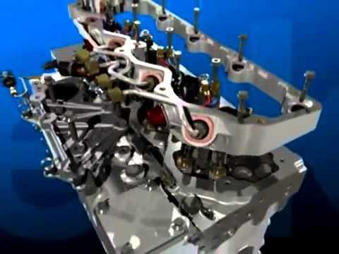 3D Otomotif   Cara kerja Diesel Engine Animation