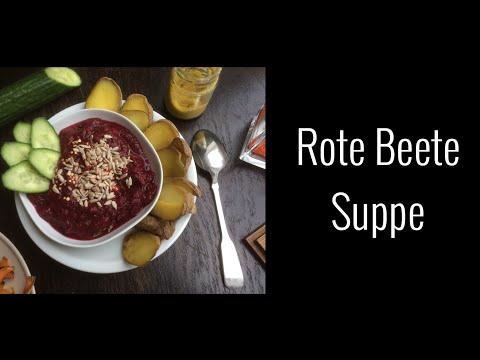 Vitamin-Bombe || rote Beete Suppe