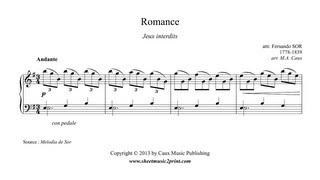 Romance - Jeux interdits