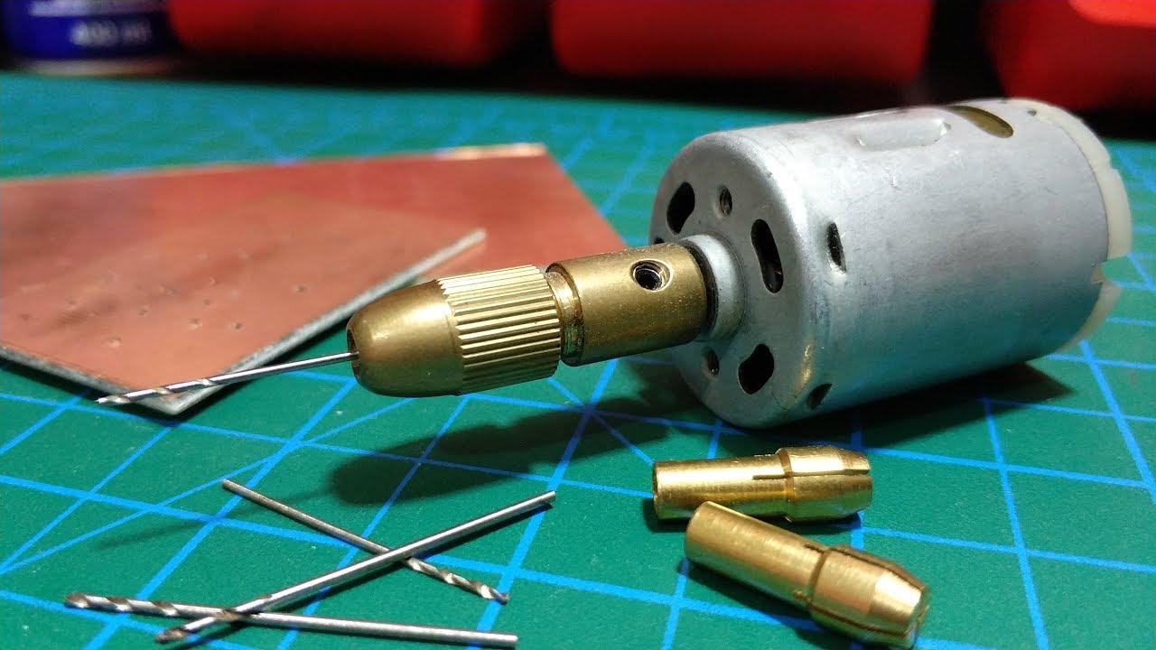 hobi matkabi yapimi mini drill kendin yap