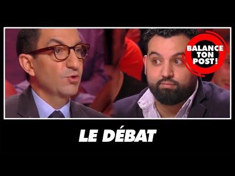 Le clash entre Yassine Belattar et Jean Messiha dans Balance Ton Post