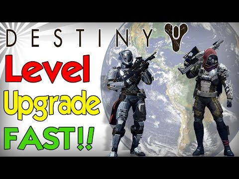 Destiny how to level everything fast upgrade gear subclass