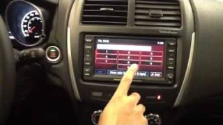 How to connect Mitsubishi bluetooth with navigation