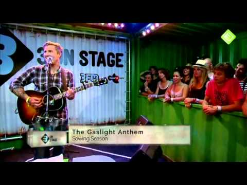 The Gaslight Anthem, live acoustic at The Lowlands Festival 2012