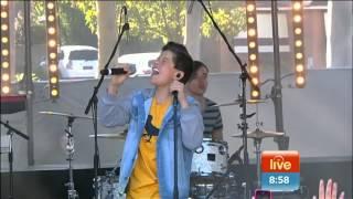 Jai Waetford - Get To Know You live on 7 Sunrise