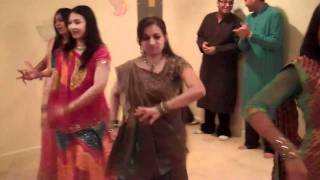 Solah sringar baby shower dance
