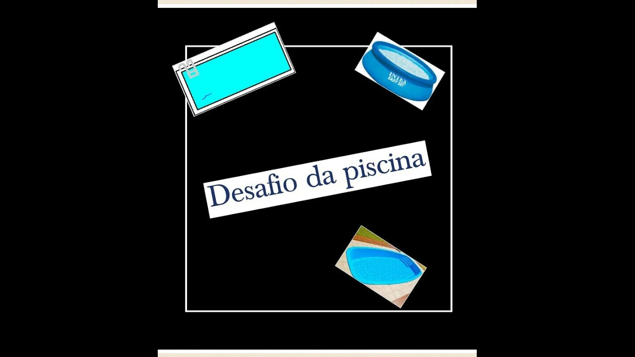 Desafio Da Piscina Ft Primo Joao Youtube