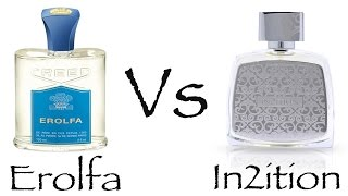 Creed Erolfa Vs In2ition Silver Afnan - Fragrance Review