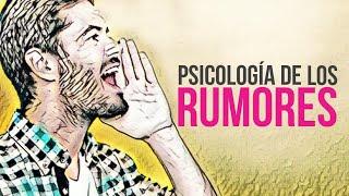 Psicología del Rumor ✔️ Psicología