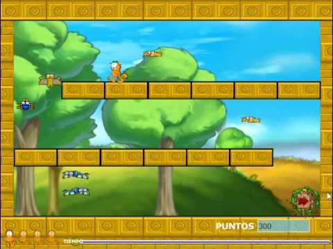 Garfield Adventure (Бродилки для девочек: Приключения Гарфилда) - прохождение игры