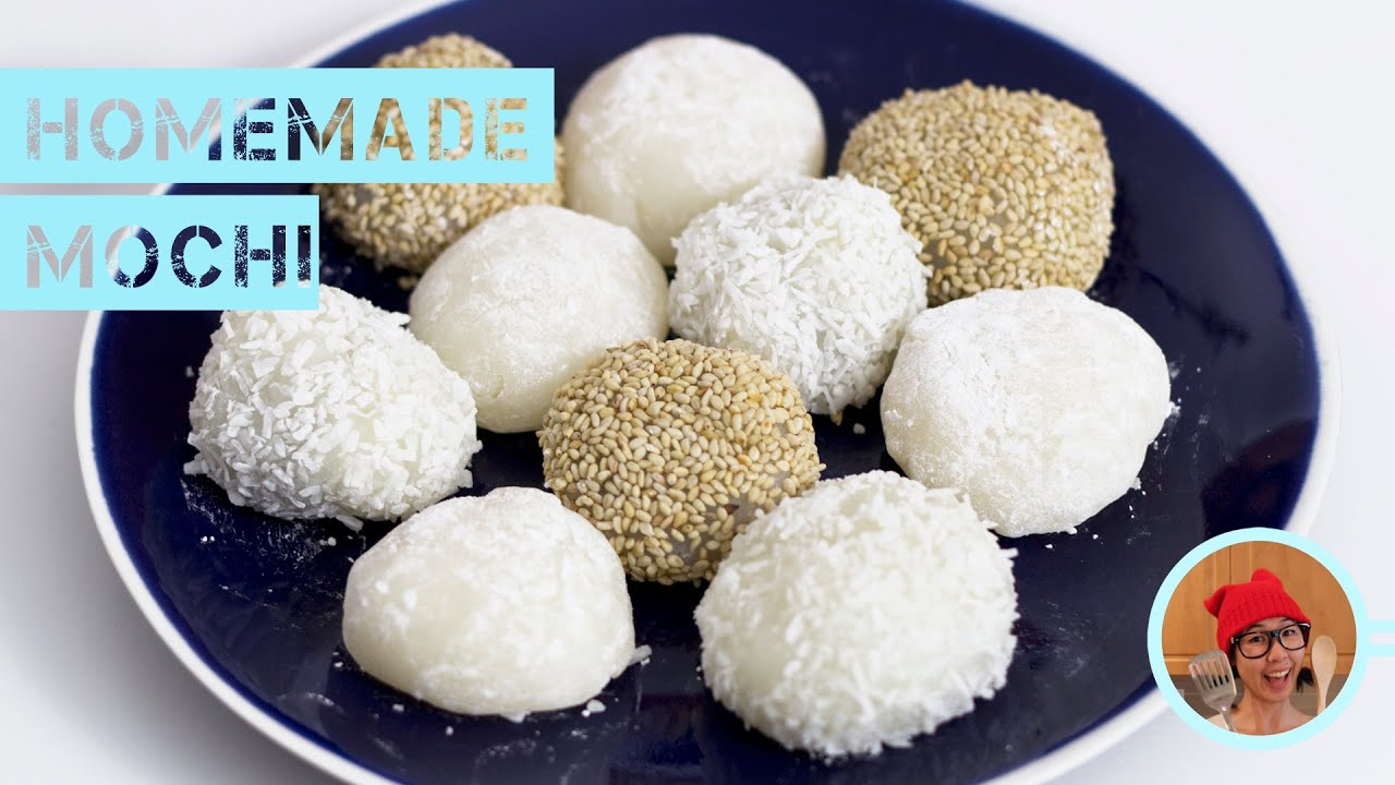 Homemade Mochi -- Super Simple! - YouTube