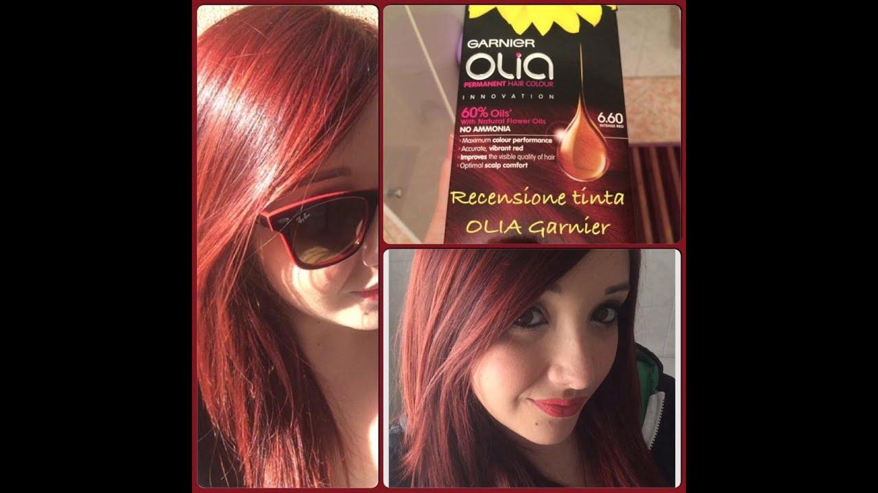 REVIEW: Tinta per capelli Rosso intenso GARNIER OLIA. Le ...