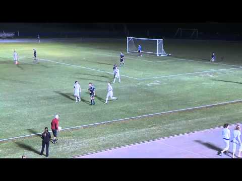 2012-10-19 Men's Soccer: BJU vs Clearwater Christian College