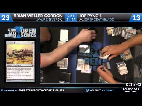 SCGPORT - Legacy - Round 7 - Joe Pynch vs Brian Weller Gordon [Magic: the Gathering]