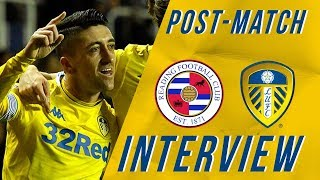 Post-match Interview | Pablo Hernandez | Reading 0-3 Leeds United