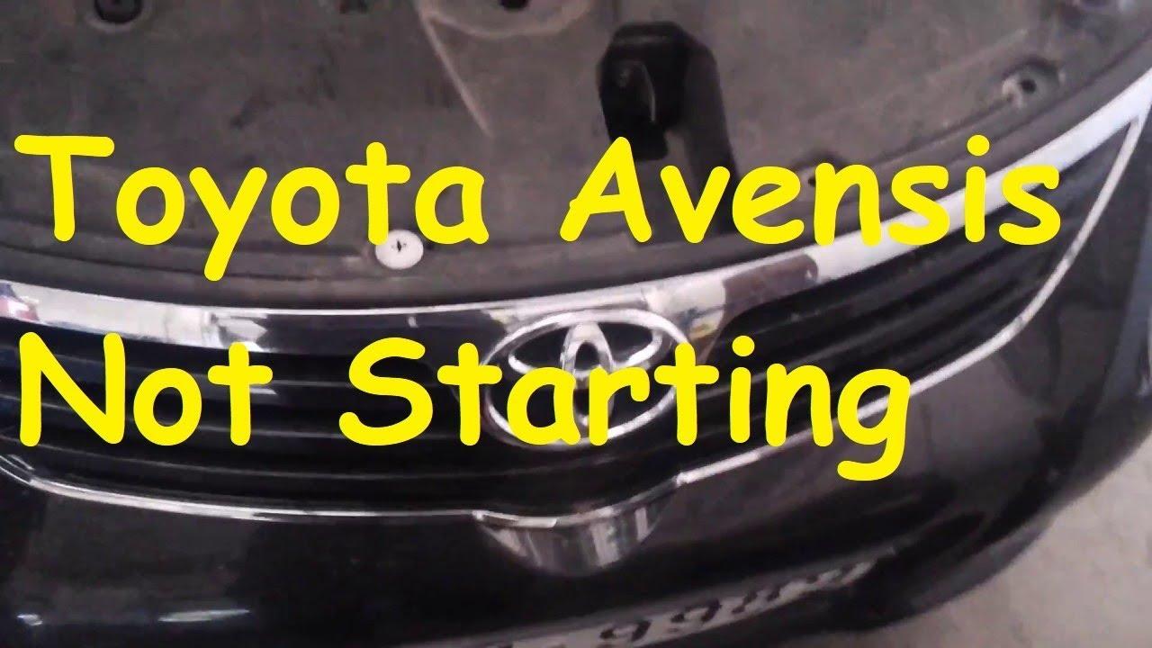Toyota Avensis D4d Starter Motor Problems | motorcyclepict co