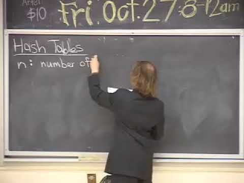 CS 61B Lecture 21 Hash Tables