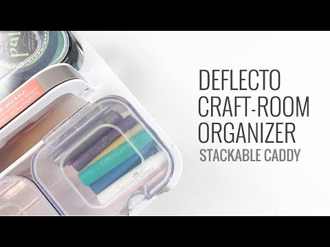 Craft Room Organizer/Storage | Deflecto Stackable