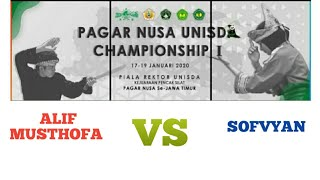 PANDA!! Pagar Nusa Unisda Championship 1 Kelas A putra pra remaja Alif musthofa & Sofvyan