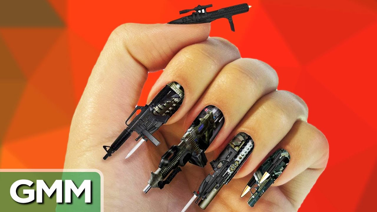 15 Craziest Nail Photos - YouTube
