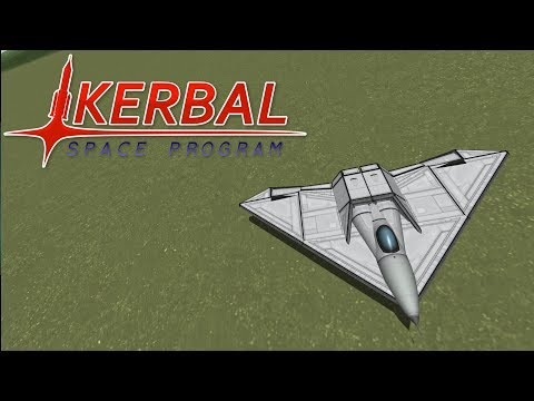 Fighter Jet Showdown 2 (Part 5) - Flying Wing - Kerbal Space Program