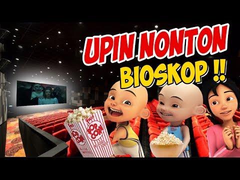 Upin Ipin Pergi Nonton Bioskop , Ipin Senang ! GTA Lucu