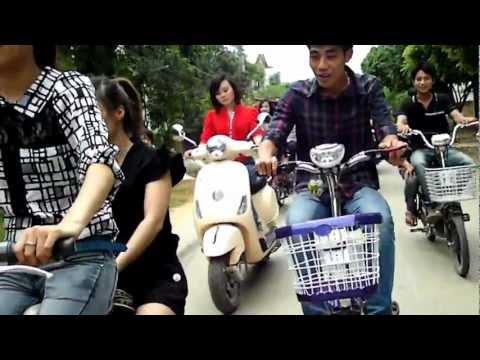 Đón dâu bằng xe đạp điện Part 2 FullHD .MP4