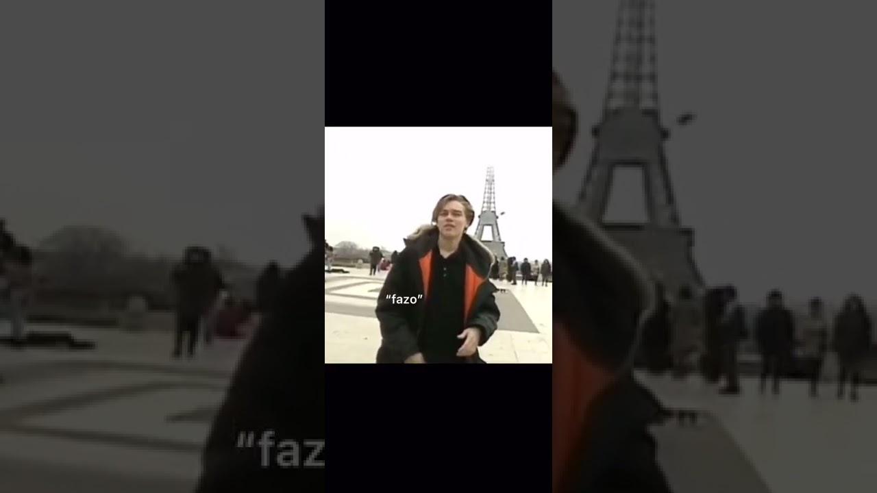 Young Leonardo Dicaprio In Paris tiktok 90sleoz