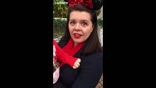 When Dad teams up with Santa for the biggest Disneyland surprise EVER! 🎅🏻🎁