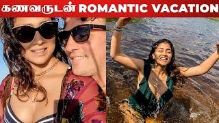 VIDEO: Actress Shriya Saran Hot Romantic Vacation With Her Husband Andrei Koscheev