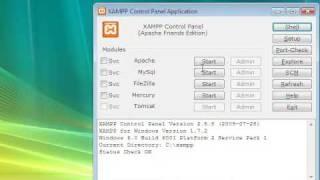 Gambar cover How to install XAMPP 1.7.2 For Windows XP, Vista 32 & 64-bit