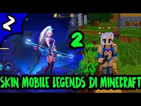 Skin Mobile Legends Versi Minecraft ! Part#2