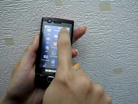SAMSUNG B7300操控分享