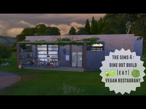The Sims 4 | Dine Out | Vegan Restaurant