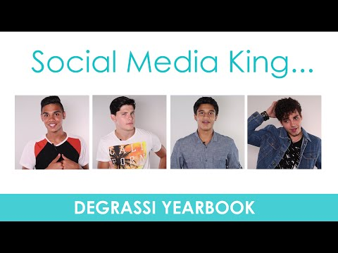 Degrassi Yearbook: Social Media King