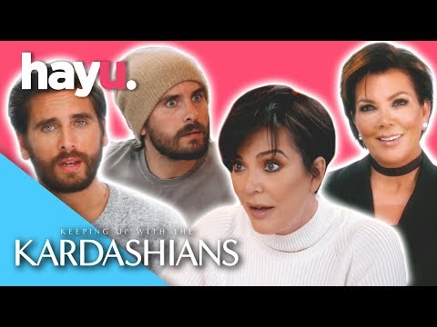 Kris & Scott's Best Moments | Keeping Up With The Kardashians