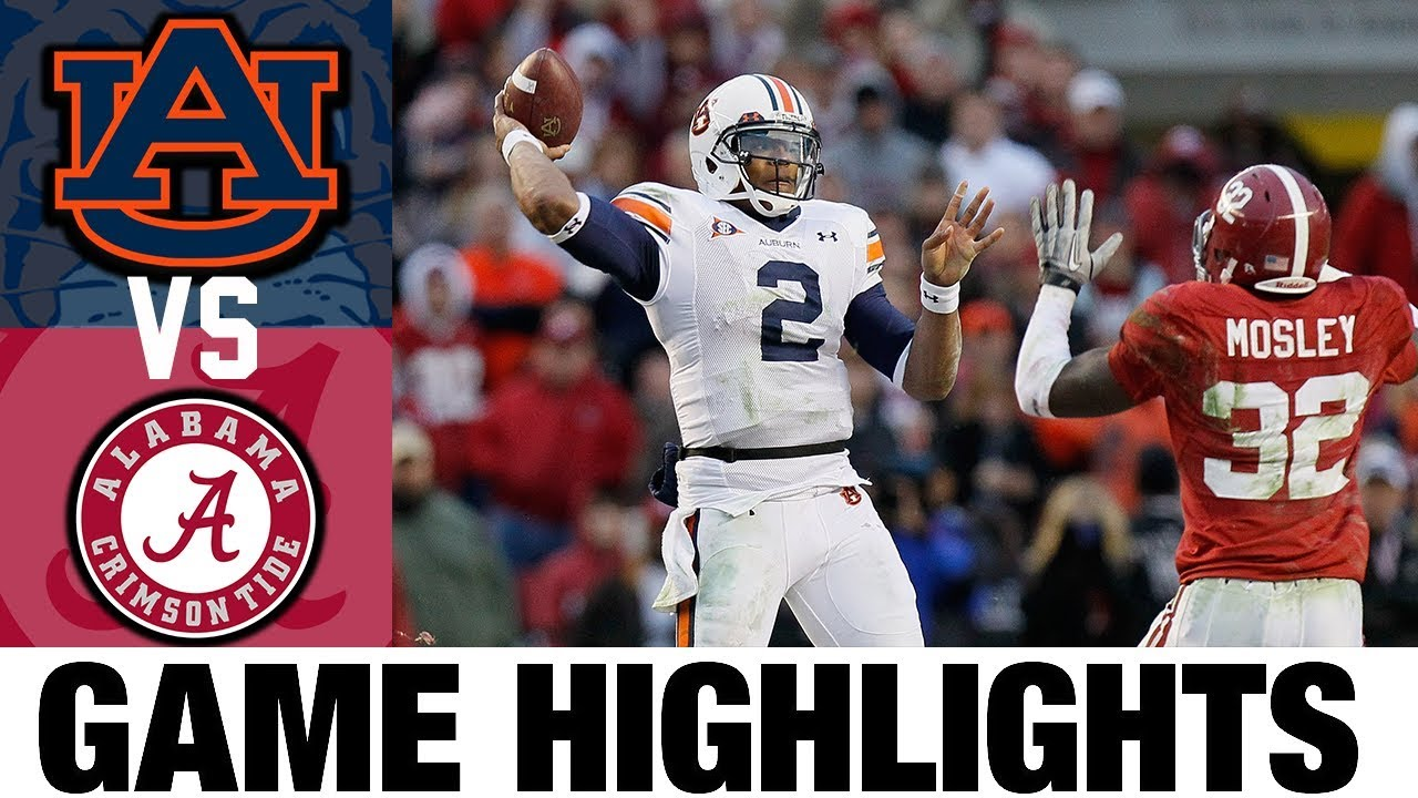 #2 Auburn vs #11 Alabama | 2010 Game Highlights | 2010's Games of the Decade