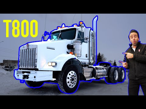 IN STOCK - 2019 Kenworth T800 Extended Daycab, Cummins X15, Manual