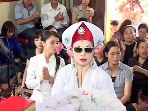 (ngoc hai hat van DT. 0981318996 ). Chua de tam.tại đền Chua Nguyet ho