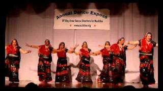 Aerodance team performing on Ali More Angana