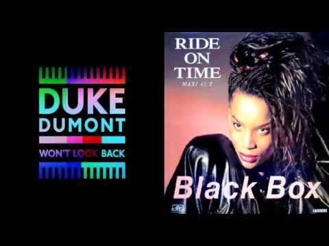 Duke Dumont Wont Look Back - Black Box Ride On Time Remix Mashup
