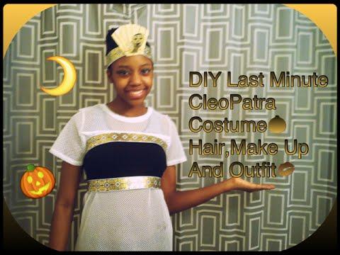 Diy last minute cleopatra costume youtube solutioingenieria Choice Image