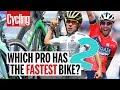 Which Pro Has The Fastest Aero Bike? Part 2 | Cycling Weekly